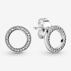 🔥Pandora🔥 Sparkling Circle Stud Earrings